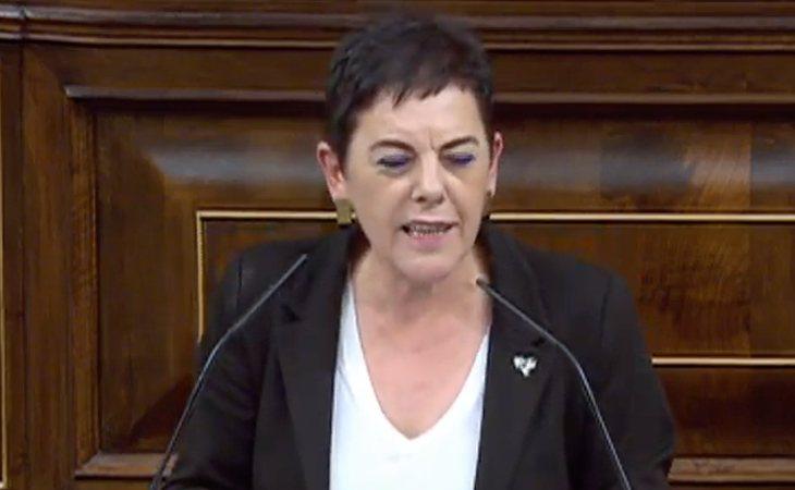 Mertxe Aizpurúa (EH Bildu): 'Sin atender las demandas de Euskal Herria, Cataluña y Galicia no habrá Gobierno de progreso'