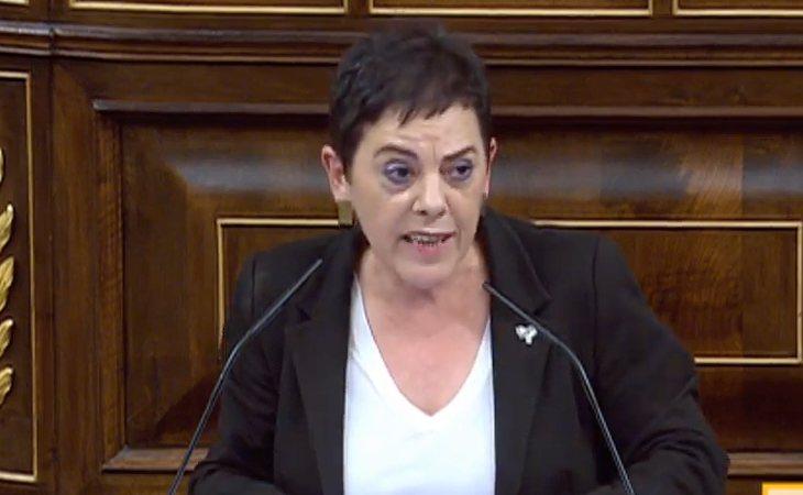 Mertxe Aizpurúa (EH Bildu): 'Los vascos llevamos mucho tiempo apelando a nuestro derecho a decidir'