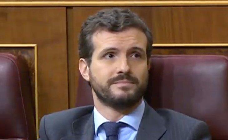 Pablo Casado (PP) valora que la intervención de EH Bildu es 'apología del terrorismo' por referirse a Arnaldo Otegi