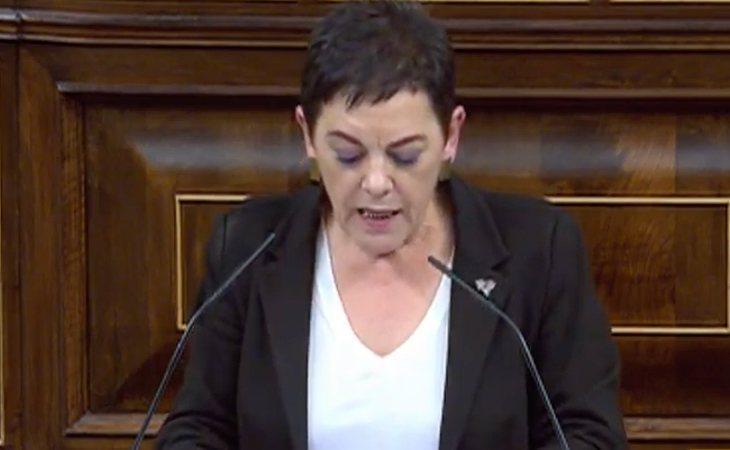 Mertxe Aizpurúa (EH Bildu), a Pedro Sánchez (PSOE): '¿Qué podría ser mejor que dar el derecho a decidir?'