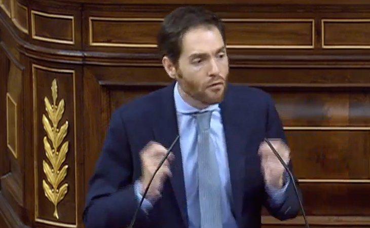 Sergio Sayas (NA+), a Pedro Sánchez: 'Su Gobierno será legal, pero no es moral'