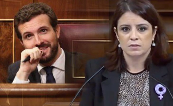 Adriana Lastra (PSOE), al PP: 'Ustedes y sus socios son un peligro para la seguridad de las mujeres'