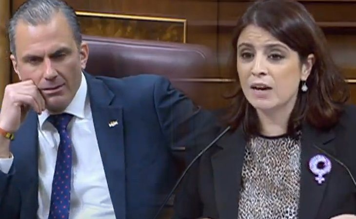 Adriana Lastra (PSOE), a VOX: 'El colectivo LGTBI ha hecho más por el avance de la democracia que todos ustedes'