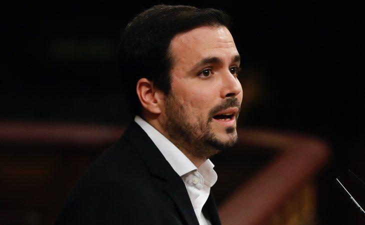 Alberto Garzón (IU) vota SÍ a la investidura de Pedro Sánchez