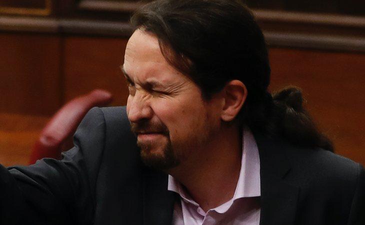 Pablo Iglesias (Unidas Podemos) vota SÍ a la investidura de Pedro Sánchez