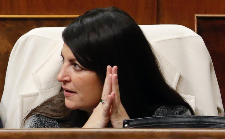 Macarena Olona (VOX) vota NO a la investidura de Pedro Sánchez