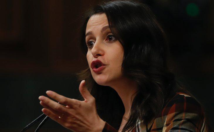 Inés Arrimadas (Ciudadanos) vota NO a la investidura de Pedro Sánchez