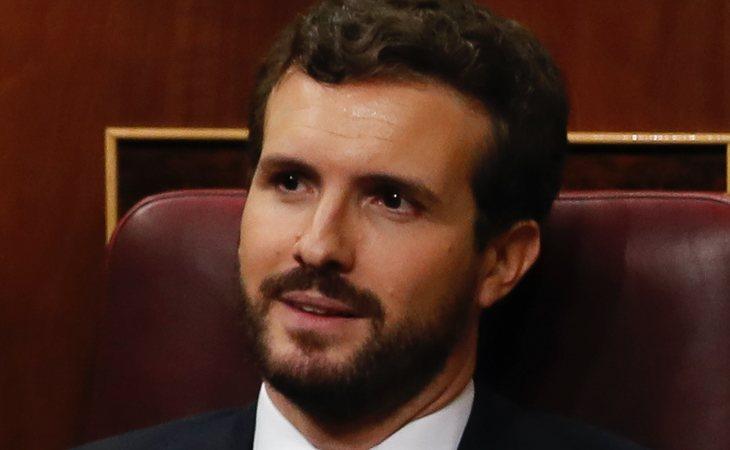 Pablo Casado (PP) vota NO a la investidura de Pedro Sánchez