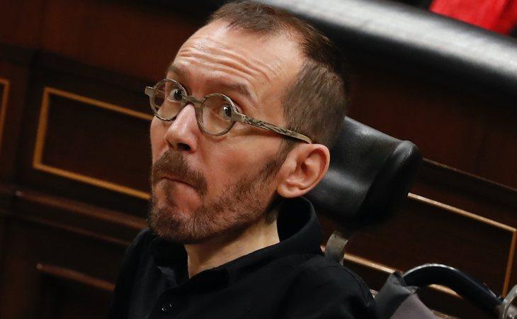 Pablo Echenique (Unidas Podemos) vota SÍ a la investidura de Pedro Sánchez