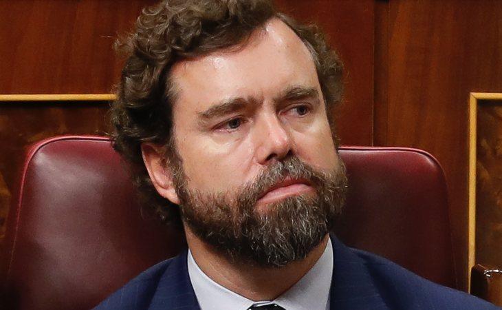 Iván Espinosa de los Monteros (VOX) vota NO a la investidura de Pedro Sánchez