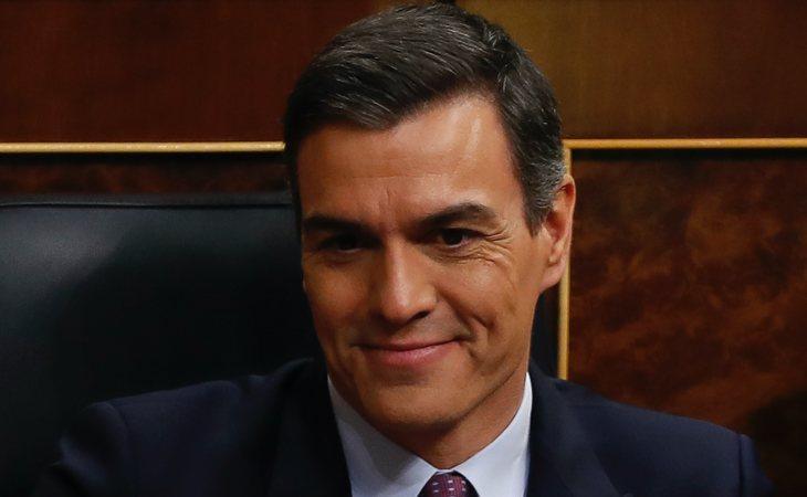 Pedro Sánchez (PSOE) vota SÍ a la investidura de Pedro Sánchez