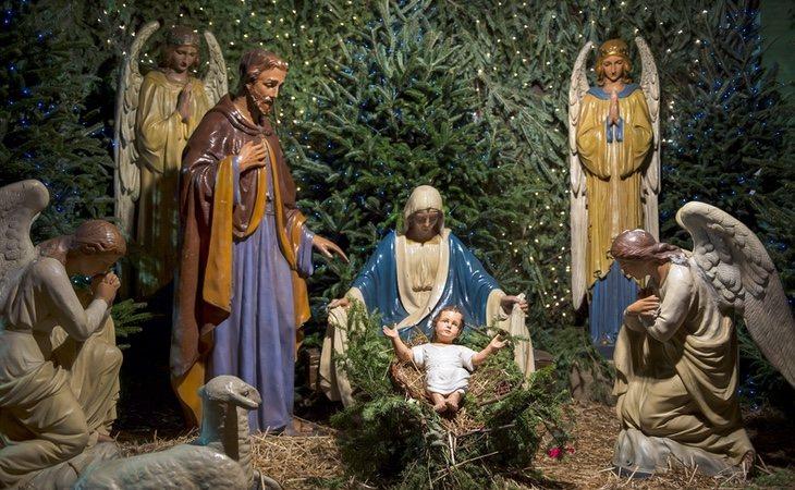 El árbol y el Belén de Navidad se encuentran más extendidos
