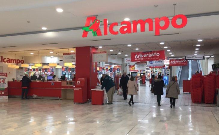 Alcampo opera en España a través de supermercados e hipermercados