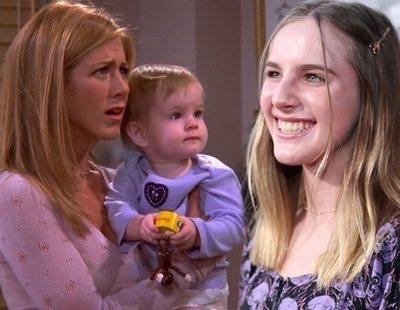 La hija de Rachel en 'Friends' responde a Chandler 17 años después y se vuelve viral