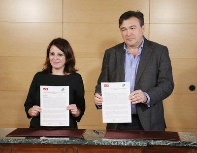 """Adriana Lastra anuncia que llevará ante la justicia """"amenazas y calumnias"""" contra el PSOE"""