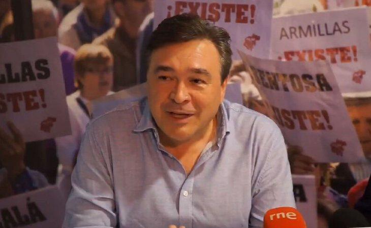 Tomás Guitarte (Teruel Existe) ha presentado una denuncia judicial por las amenazas y presiones para que no apoye la investidura de Pedro Sánchez
