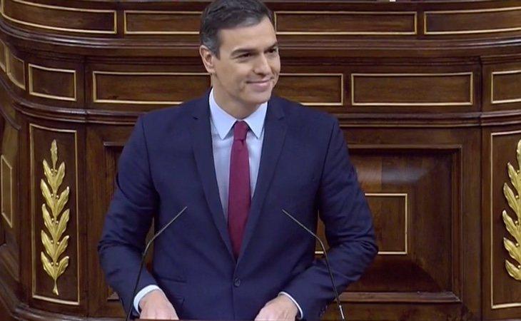 Comienza la sesión de investidura con la intervención de Pedro Sánchez