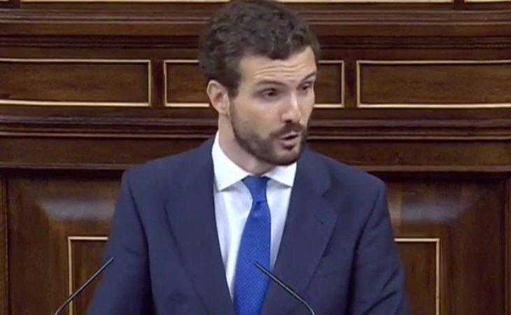 Casado asegura que el Gobierno depende de 'separatistas, golpistas, extrema izquierda y batasunos'