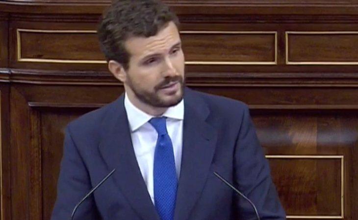 Casado también cita a Manuel Azaña: 'Yo toleraré que cuestionen a la República, pero no que lo hagan a España'