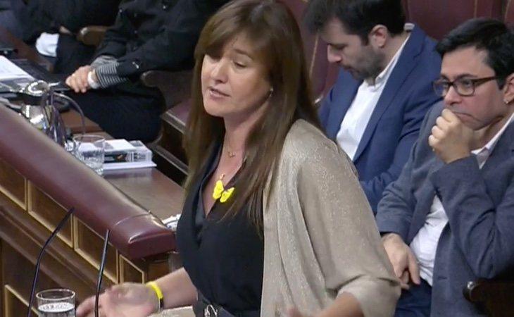 Borràs: 'No contribuiremos a la investidura de un presidente español si quieren destituir a nuestro presidente. En España no hay separación de ...