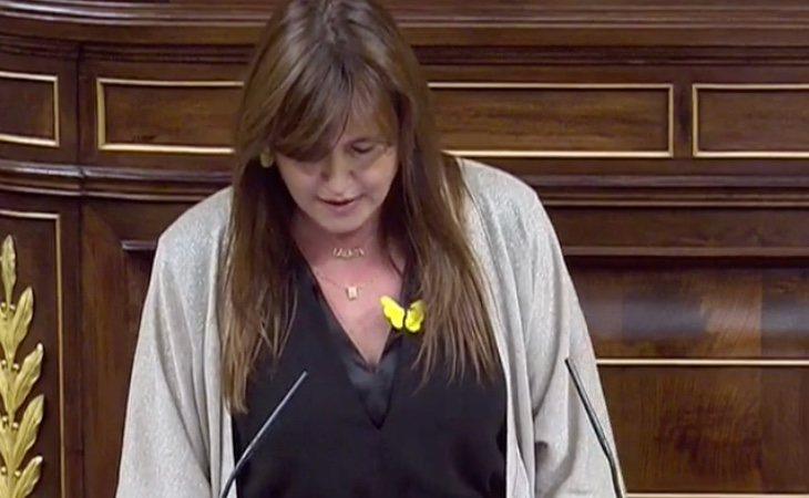 Borràs (JxCAT): 'España, que se dice tan democrática, no reconoce la inmunidad de nuestro president'