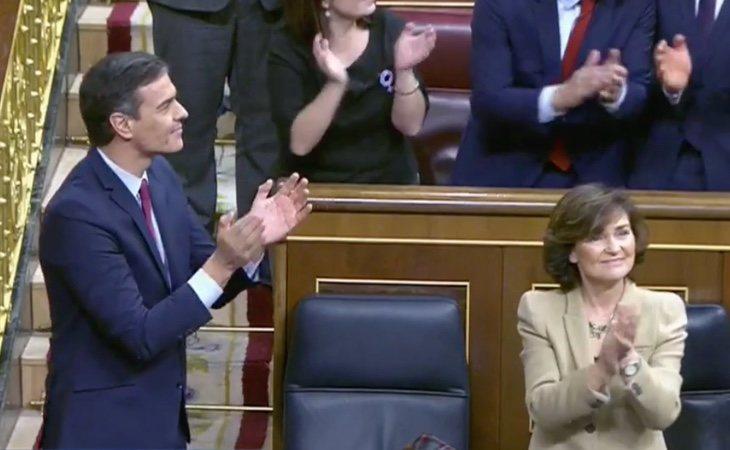 España encara su primer gobierno de coalición tras la investidura de Pedro Sánchez como presidente del Gobierno. Sánchez recibe las ...