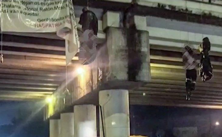 Hallaron 19 cadáveres colgados de un puente en México por el tráfico de aguacates