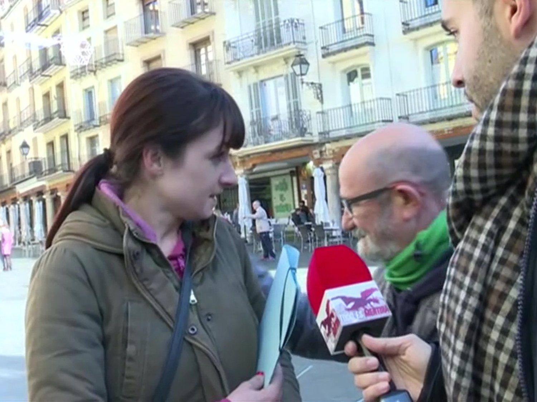 """Una militante de VOX, a un fundador de Teruel Existe: """"Si hay que fusilarte, lo haremos"""""""