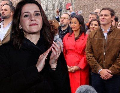"""Cs denuncia una campaña del PSOE para """"inventar un bloque de la derecha dominado por VOX"""""""