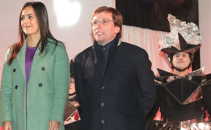 Begoña Villacís (Cs) y José Luis Martínez-Almeida (PP), vicealcaldesa y alcalde de Madrid, durante la cabalgata de Reyes