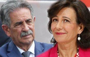 El Santander pudo presionar para cambiar el el voto del PRC en contra de Pedro Sánchez