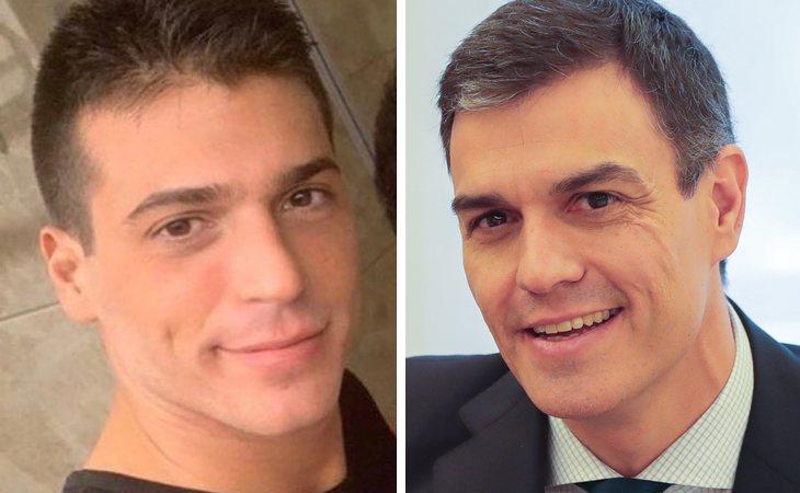 Icreíble parecido entre Can Yaman sin barba y Pedro Sánchez