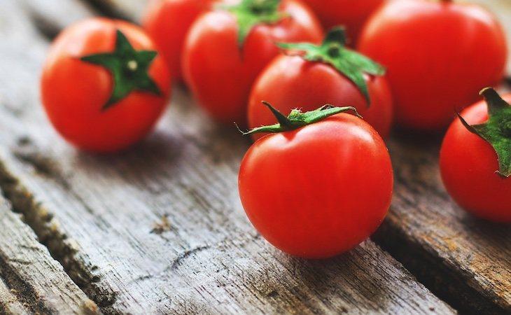 Los tomates son ricos en licopeno