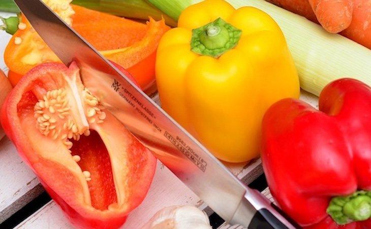 Los pimientos tienen antioxidantes con efectos antiinflamatorios