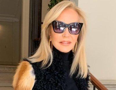 """Carmen Lomana se declara ecológica por llevar abrigos de piel: """"Los sintéticos contaminan"""""""
