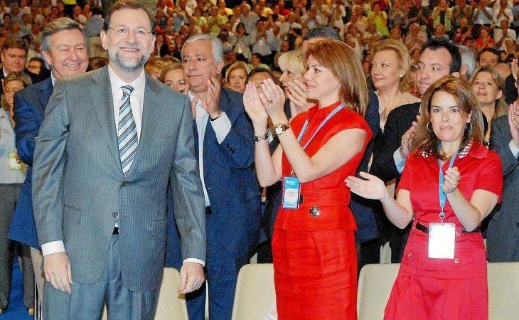 Rajoy encumbró a unas desconocidas Soraya y María Dolores de Cospedal en 2008 para explorar una vía moderada