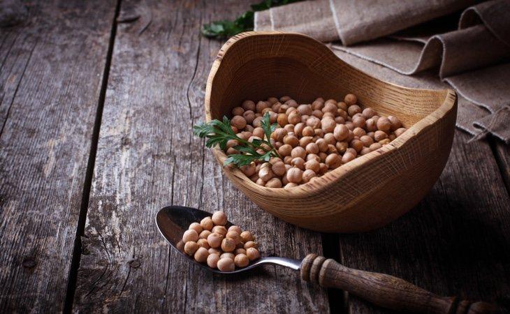 Los garbanzos se constituyen como una fuente muy recomendable de proteínas vegetales