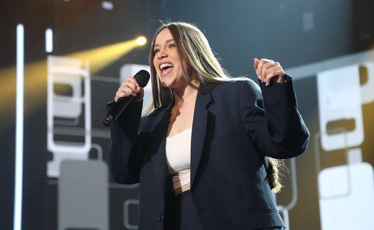 Eva, concursante de 'OT 2020' en la Gala 0
