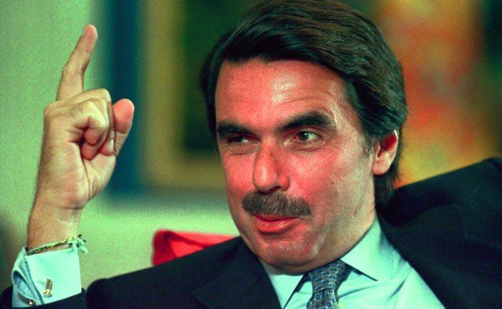 Aznar gobernó España entre 1996 y 2004