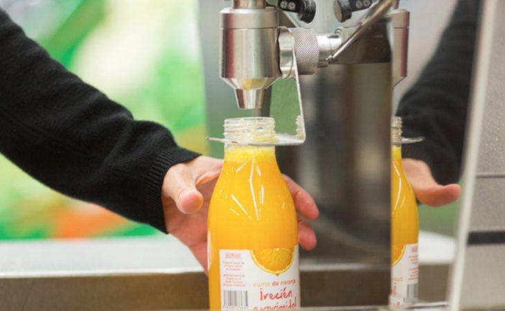 El zumo de naranja exprimido cada vez más demandado