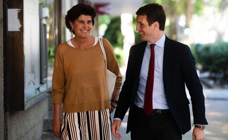 Pablo Casado quiere recuperar el PP de María San Gil y Mayor Oreja