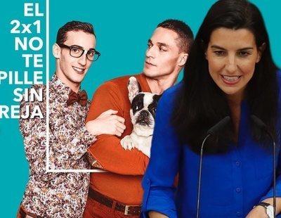 Cuando Rocío Monasterio pedía boicotear a VIPS por mostrar una pareja gay en sus anuncios