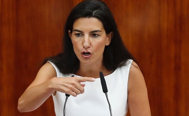 Rocío Monasterio ha sido denunciada ante la Fiscalía