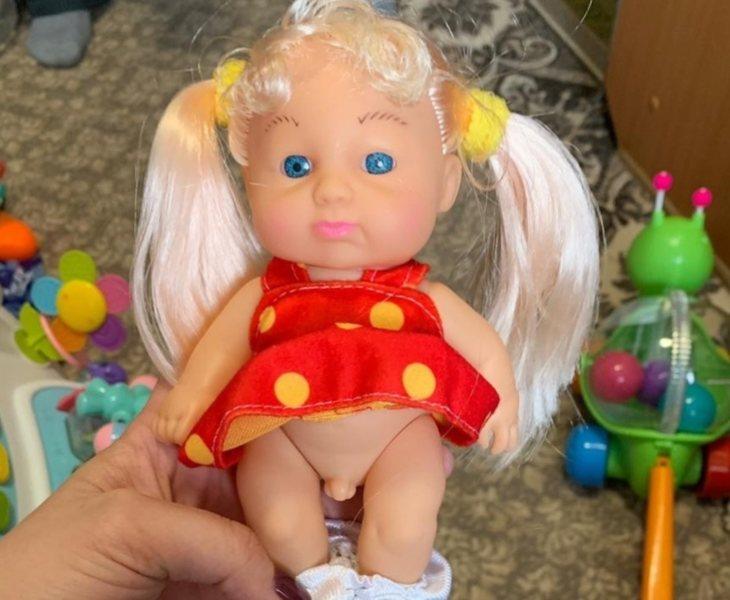 Muñeca con pene que ha desatado la polémica en Rusia