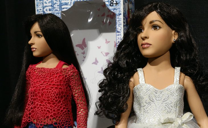 Muñeca trans inspirada en la activista Jazz Jennings