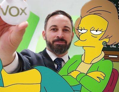 Así predijeron 'Los Simpson' en 1992 el 'pin parental' de VOX