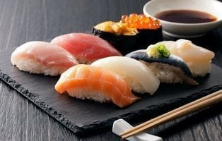El pez mantequilla, uno de los más utilizados en el sushi, puede producir trastornos intestinales