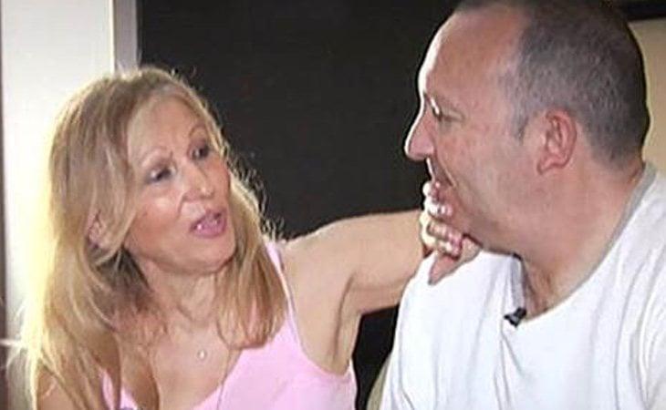 Paquita, en compañía de su actual pareja, Juanillo