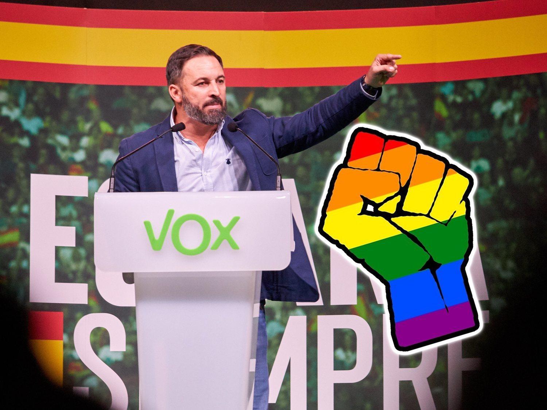 Denuncian a VOX ante la Fiscalía por comparar al colectivo LGTBI con la pederastia