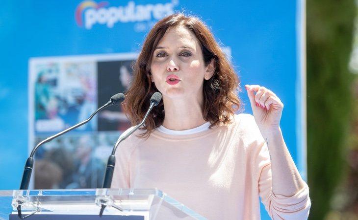 El papel de Isabel Díaz Ayuso ha suscitado críticas en la oposición | PP de Madrid